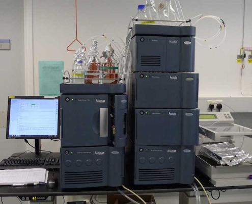 Waters Acquity UPLC I-Class with FD and PDA detectors